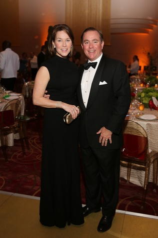 Barbie and Bruce Ross at the Houston SPA Society for the Performing Arts Gala March 2015