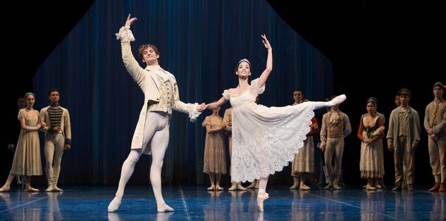 Houston Ballet A Midsummer Night's Dream dress rehearsal pics September 2014 Aaron Robison and Karina Gonazlez