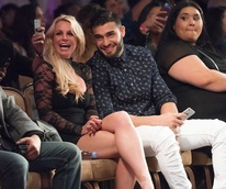 Britney Spears, Sam Ashgari at Art Hearts Fashion show
