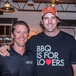 Stephen Holley, Justin Fourton at Carry The Load fundraiser dinner at Pecan Lodge