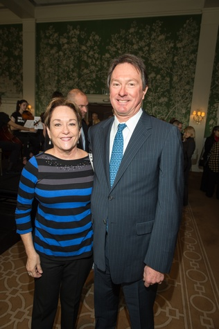 11 Jeanie Joslin and Craig Murrin at the HSPVA 9th Annual Encore for Excellence luncheon February 2015