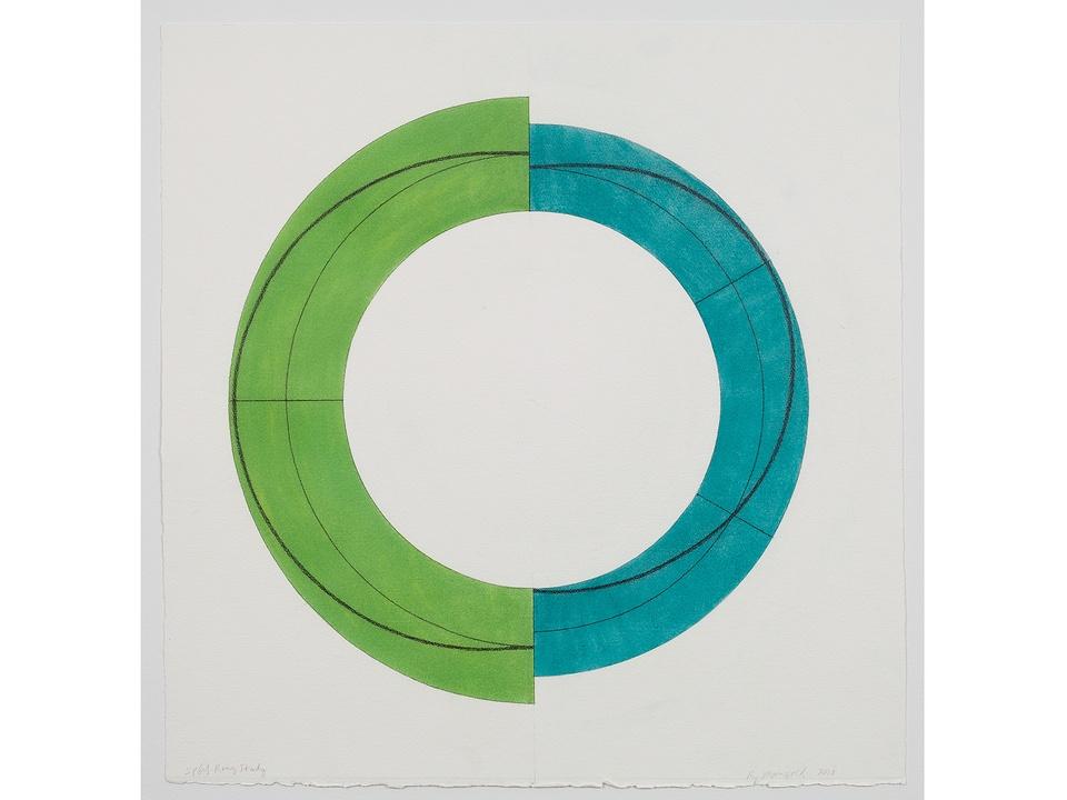 CAMH's NY art auction January 2014 Robert Mangold