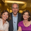M Penner Magazine launch party April 2013 Pam Roberts, Mark Strum, Lisa Friedlander