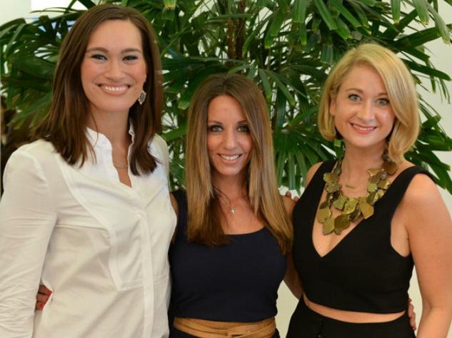 Nina Lowe, Andrea Isom, Carson Carney, TOOTSIES Top Blogger