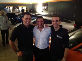 Austin Photo: News_kevin_ecurie25 supercars_September 2012_shaw, blackburn, white