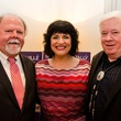 Ed Clements, Barbara Chisholm and Dan Bullock at Dancing With the Stars preview in Austin