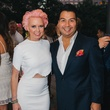 8 Vivian Wise and Sergio Morales at Ceron 50th birthday party August 2014