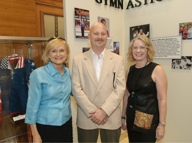 Claire Cheney, Alan Olson, Lynn Bielby, Texas Sports Legends