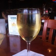Khyber North Indian Grill glass of white wine