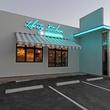 Liberty Kitchen & Oysterette exterior night
