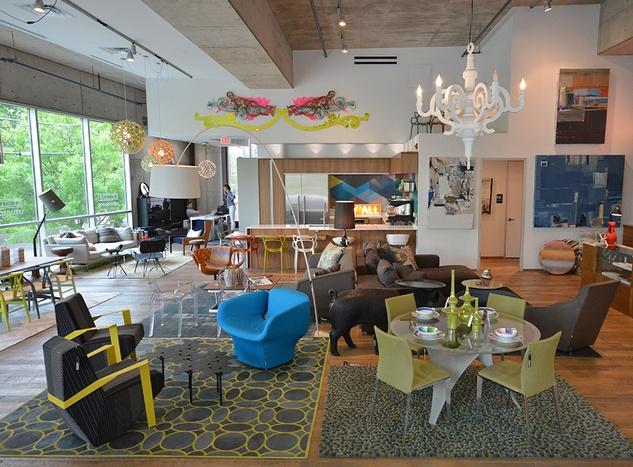 Urban Space Interiors showroom