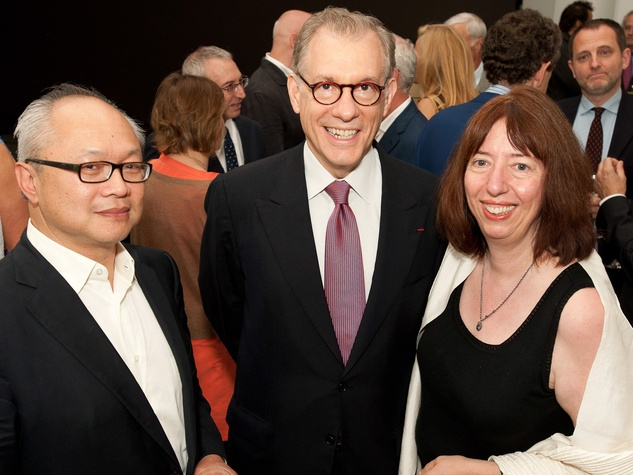 News_MFAH Turrell dinner_May 2012_Mel Chin_Gary Tinterow_Alison de Lima Greene
