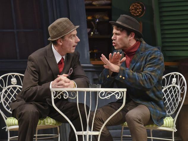 Chamblee Ferguson and Daniel Duque-Estrada in Dallas Theater Center's The School for Wives