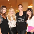 10 Kristen Guerra, from left, Lauren Page, Leigh Evans and Lauren Mills at The Orange Show's A Couture Cause party