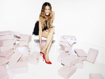 Sarah Jessica Parker heads to Houston for haute MD Anderson shoe sale