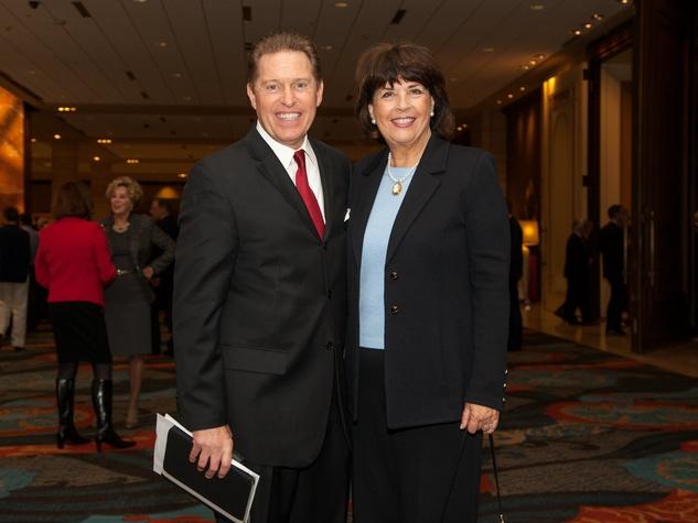Steve Amerson, Kristine Amerson at Living Legend with George W. Bush
