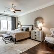 Bedroom at Ritz-Carlton #702 in Dallas