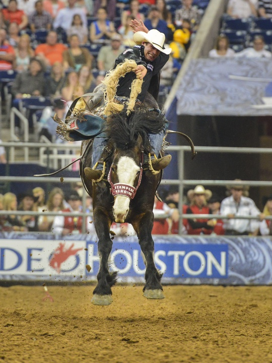 4 RodeoHouston Rodeo champions March 2014 Heith Demoss