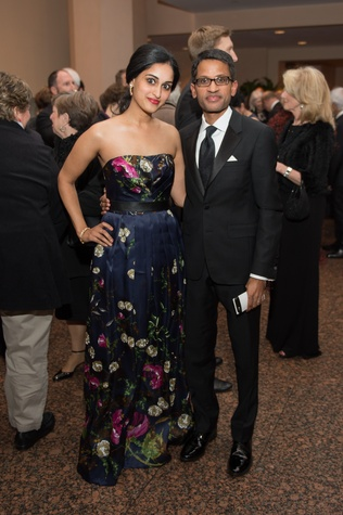 10 Drs. Sri and Raj Yalamanchili at the HGO Concert of  Arias February 2015 wp