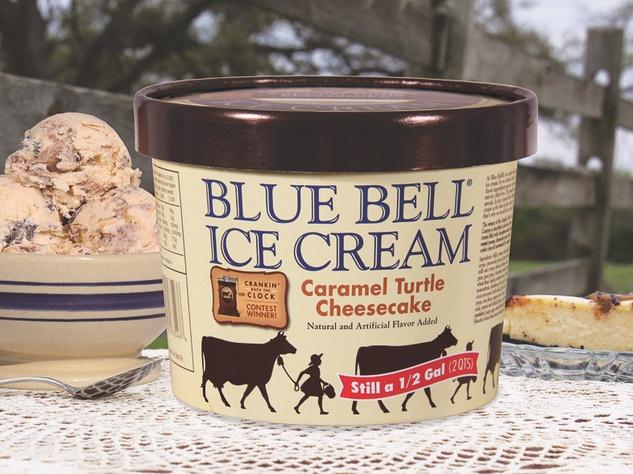 new Blue Bell ice cream flavor Turtle Cheesecake