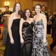 Rachel Bowers, Emily Dunn, Lindsey Crabtree, Black Tie Dinner