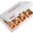 Krispy Kreme doughnuts in a box