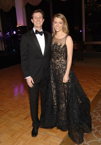 Kevin Kushner and Brittany Sakowitz Kushner at the UH Law Gala March 2015