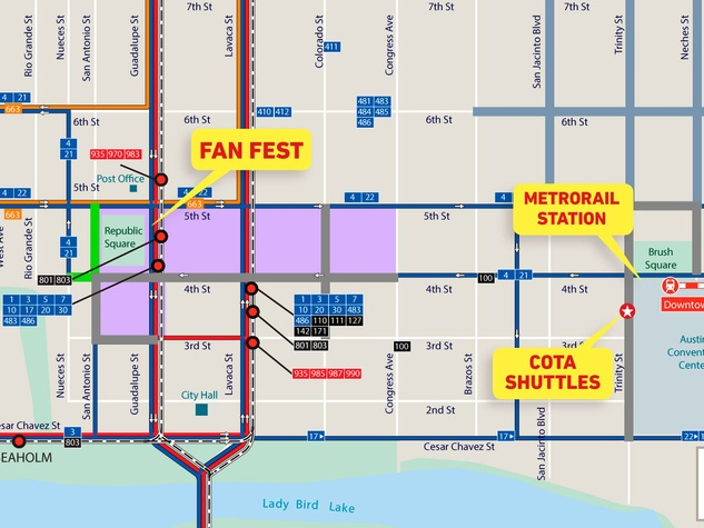How To Get Around Town During F1 Street Closures