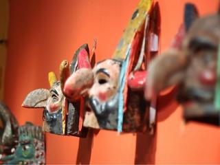 Mexican masks Mexic-Arte Spring Exhibit