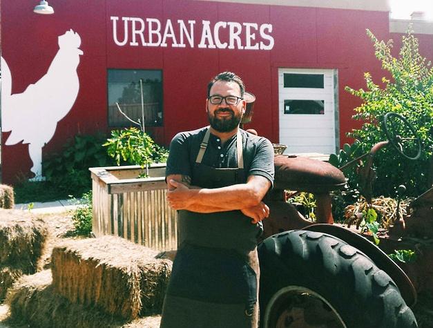 Urban Acres, chef David