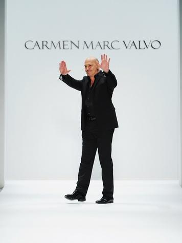 Fashion Week fall 2013, designer Carmen Marc Valvo