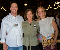 Explore Austin Board Member Jamie Matthews, Explore Austin CEO Ann Jerome, Advisory Council Member Mary Clare Matthews PC Andy Sams.jpg
