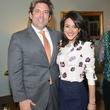 Jared Lang and Maryam Afshari at the JDRF gala kick-off party January 2014