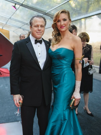 Maxwell L. Anderson, Jacqueline Anderson at Art Ball 2014