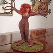 Art For the Trees if You Please exhibit, December 2012, One of Janet Bodin's doll