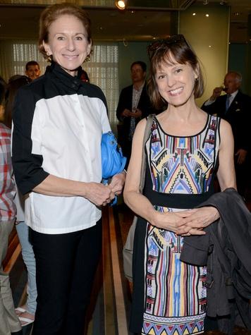 Kathryn Yingling, Lynda Transhu, HFAF Dallas Party