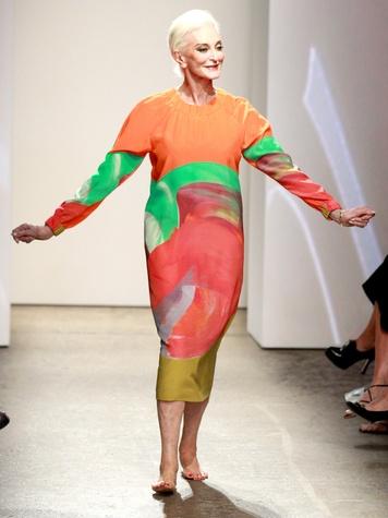 Clifford, Fashion Week spring 2013, Monday, Sept. 10, 2012, Marimekko, Carmen Dell'Orefice