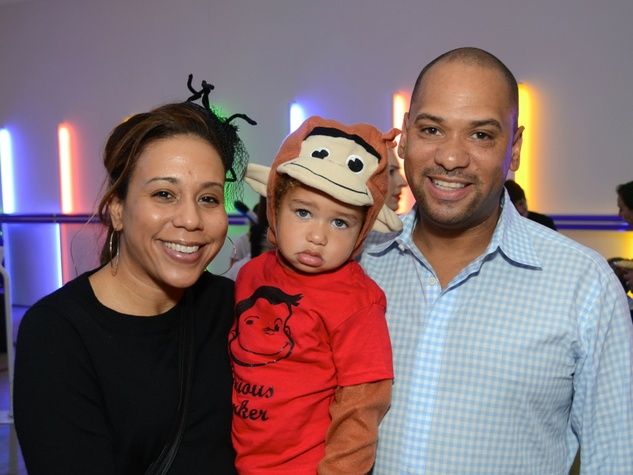 17 Heidi Smith from left, Parker Smith and Marcus Smith at The Menil Collection Halloween party October 2013