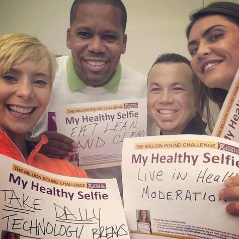Shape Up Houston Healthy Selfie campaign