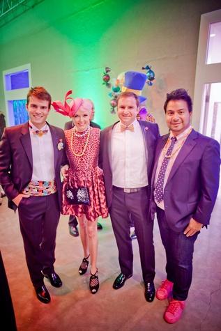 Fresh Arts Gum Ball Gala 2015 J.D. Adamson, Vivian Wise, Tony Gibson and Sergio Morales