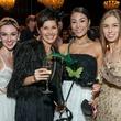 10 Emily Bowen, Lauren Strongin, Sooyoun Cho, Allison Miller at the Houston Ballet Ball February 2015
