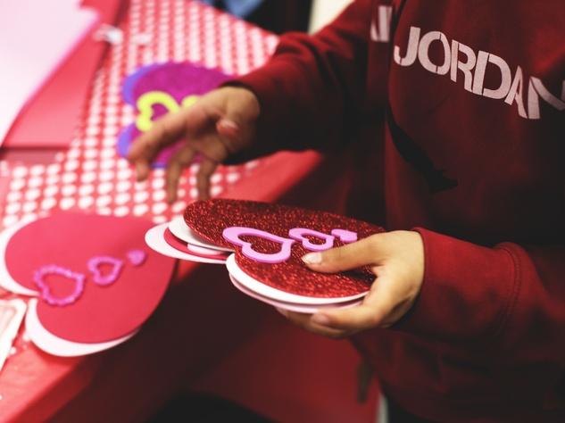 Houston, CultureMap Charity Challenge Winner, Homemade Hope, 2017, making crafts