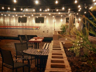 Stay Gold_Austin bar_outside patio_trailer