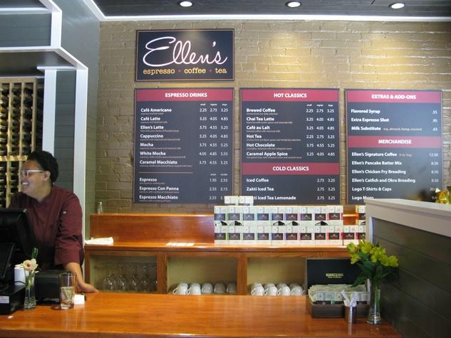 Ellen S Southern Kitchen Menu