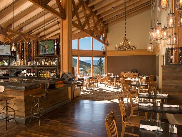 Jayme Jackson Hole and the resort Snow King Resort Hayden's Post restaurant