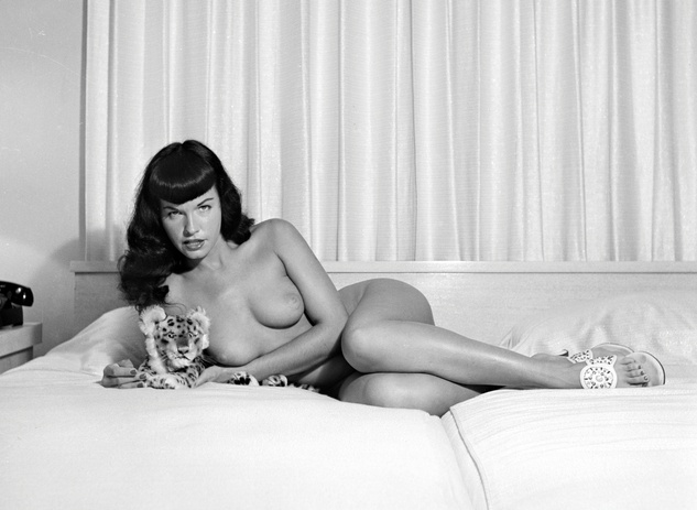 Bettie Page by Bunny Yeager