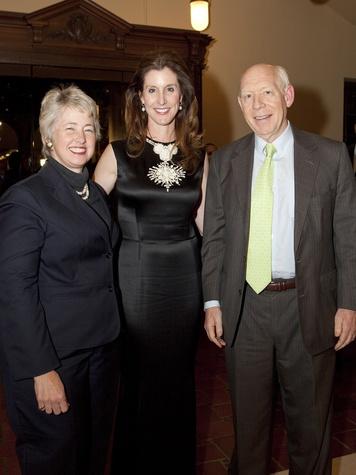 News_Julia Ideson Library reopening_Mayor Annise Parker_Phoebe Tudor_Bill White