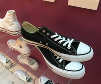 Ken's customized Chucks-after