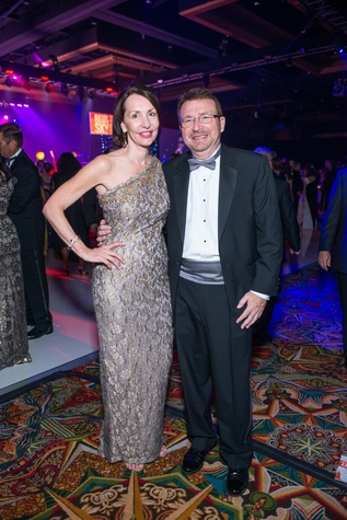 Memorial Hermann Gala 5/16  Susie Distefano, Iggy Distefano