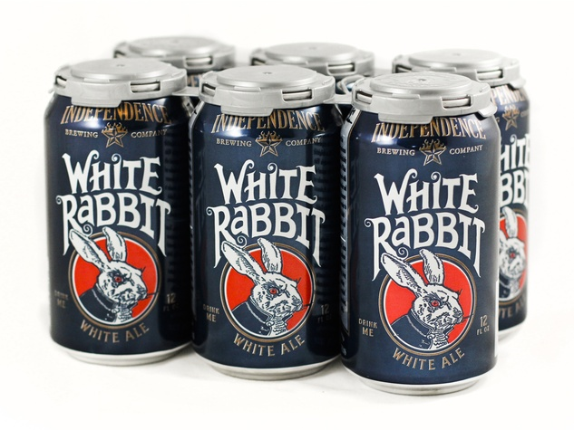 Independence Brewing White Rabbit in Can